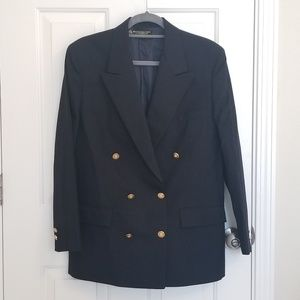 Brooks Brothers 100% pure wool blue blazer size 12